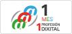Logo 1 mes 1 profesión digital