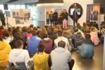 Inauguración da exposición sobre os Premios María Josefa Wonenburger.