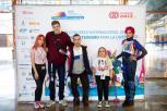 Participantes na exhibición de videoxogos inclusivos.