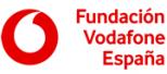 Logo Fundación Vodafone España.