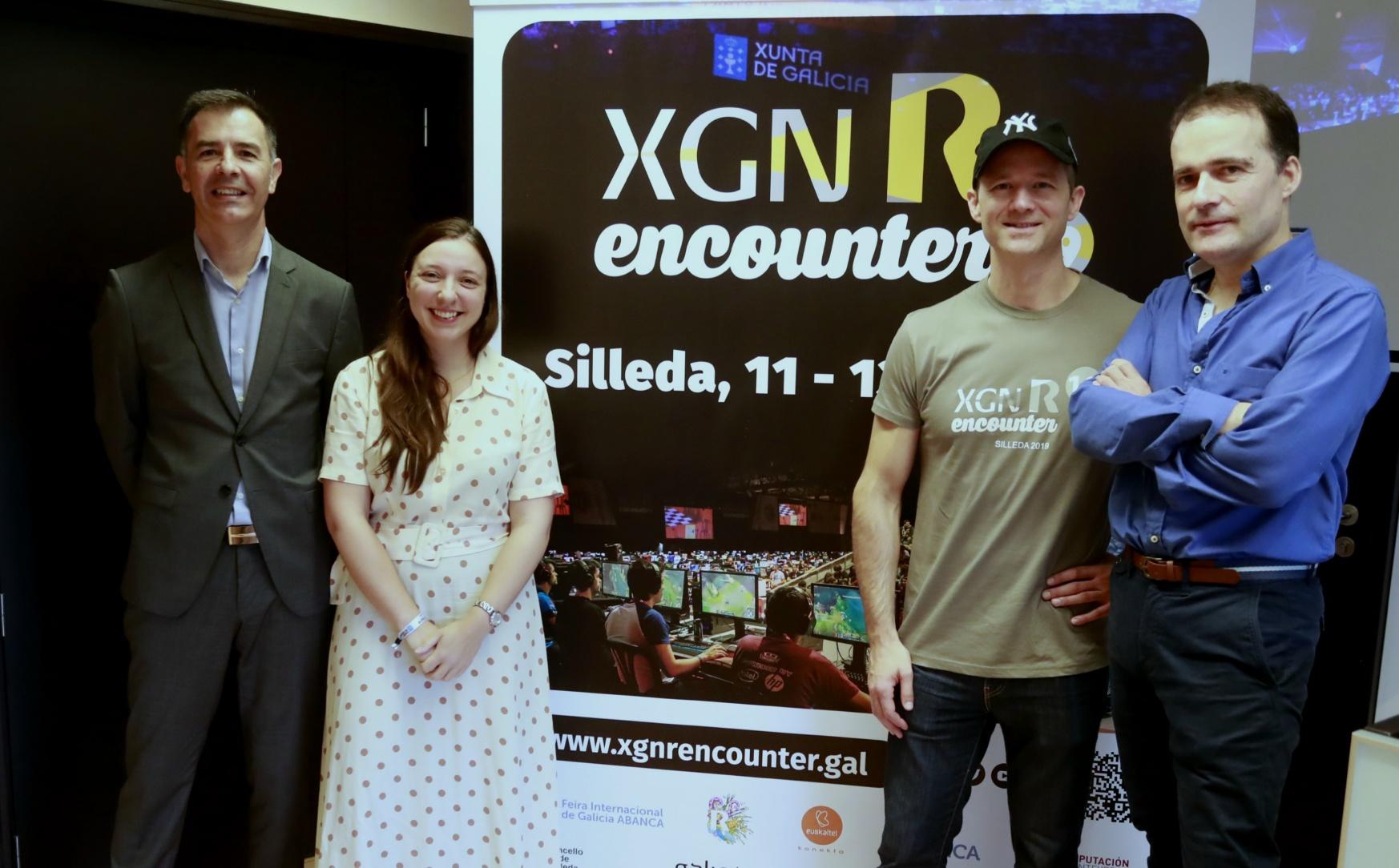 Presentación da 19ª edición de Xuventude Galicia Net (XGN) R Encounter.