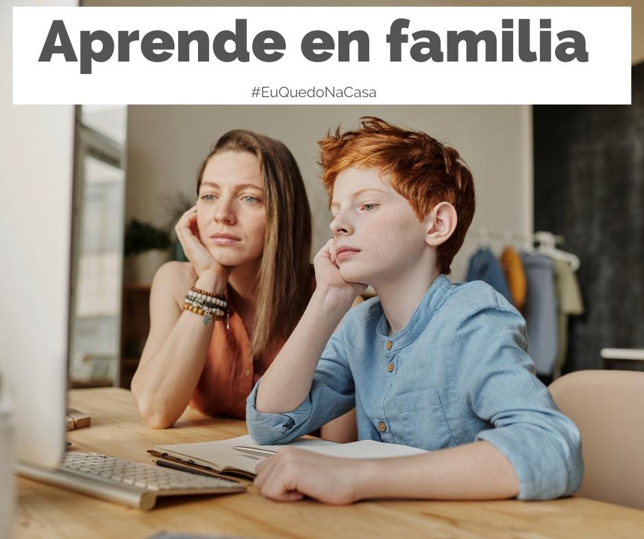 Aprende en familia coa tecnoloxía.